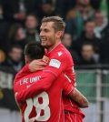 Фото с матча Унион Берлин 2:2 Вольфсбург