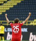 Фото с матча Боруссия Дортмунд 0:1 Бавария