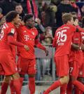 Бавария празднует победу в Чемпионате Германии