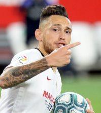 Фото с матча Севилья 1:1 Реал Вальядолид
