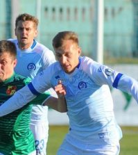 Фото с матча Динамо Минск 1:0 Городея