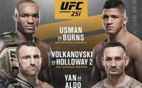 UFC 251 анонс