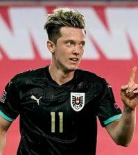 Фото с матча Норвегия 1:2 Австрия
