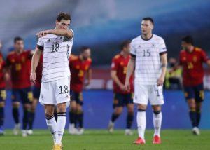 Германия разгром от Испании