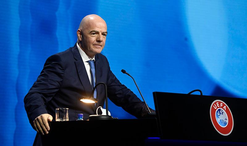 Джанни Инфантино ФИФА