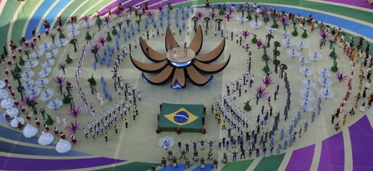 Открытие Бразилия